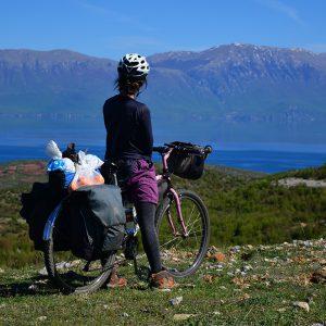 Lake Ohrid in Macedonia and Albania