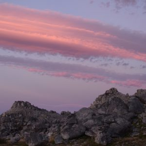 Magical cloud in Cederberg