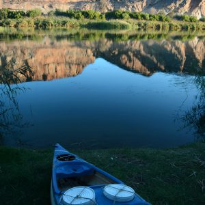 Orange river the boarder of South Africa & Namibia
