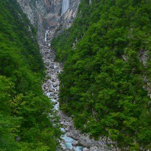 Waterfall paradise Slovenia