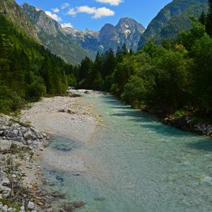 Amazing Soca valley in Slovenia