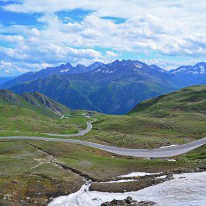 A highest road in Austria