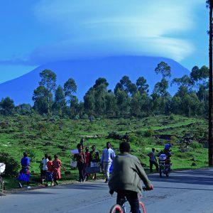 Rwenzori Mountains where the mountain Gorilla is