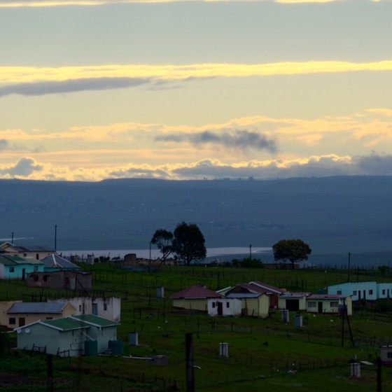 Rural sunset in Eastern cape