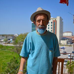 Regend man in Turkey