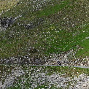 Great feeling cycling in the Durmitor mountains