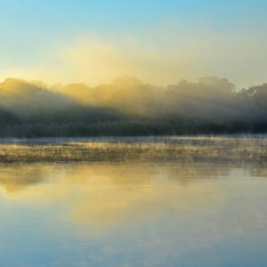 Morning at Kavango river