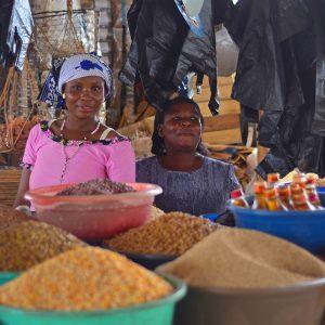 Market ladies in Tanzania