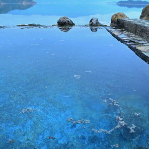 Lake & Hot spring in Turkey