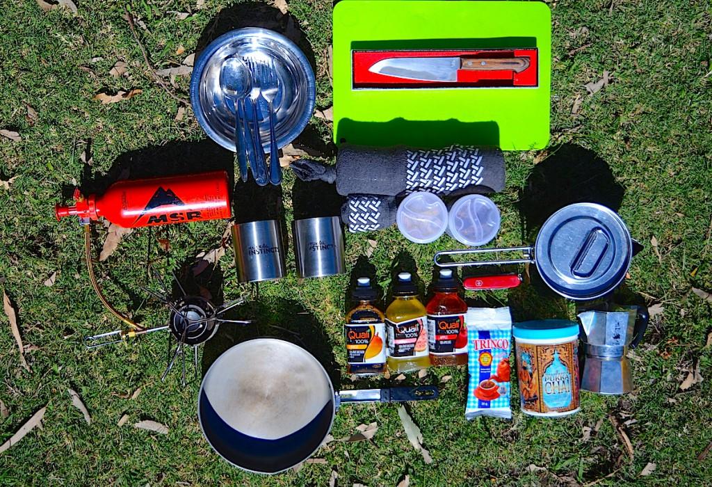 スパイス類と調理器具