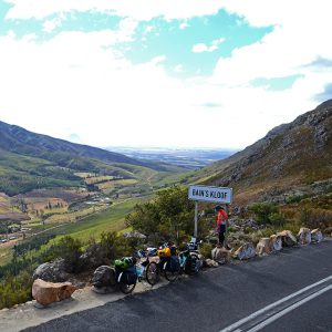 A first great mountain pass we have cycled