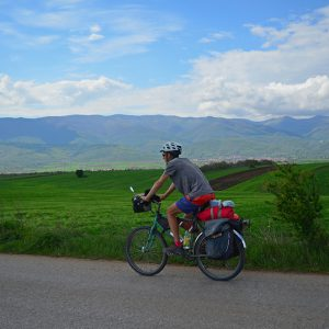 Rolling hill in Macedonia