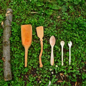 Our first  carving spoon is made in Montenegro