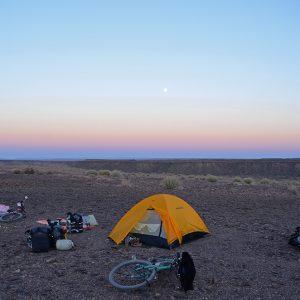 5 star campspot in Namib desert