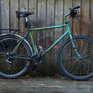 Elliot's bike after 12,000km journey
