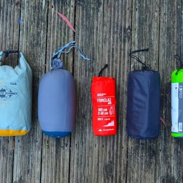 Sleeping bag and Mattress / マットレスと寝袋