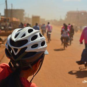On the road in Tanzania and Ugandan boarder