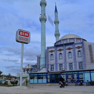 Shop and pray at the same time. in Turkey