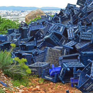Plastic paradise near the tomato farms in Turkey