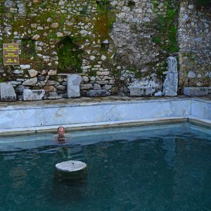 Relax natural hot spring in Turkey