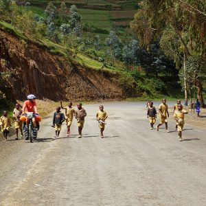Running after you forever in Rwanda